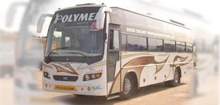 Bangalore to munnar by bus via Udumalpettu by Polymer AC Sleepr