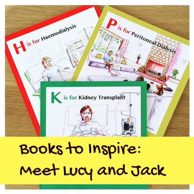 Books to Inspire: Meet Lucy and Jack
