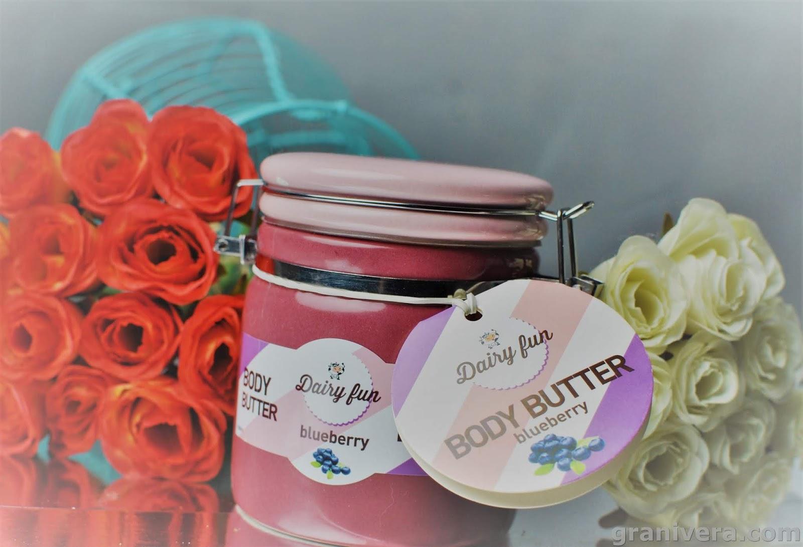 Delia Cosmetics Dairy fun jagodowe masło do ciała, czyli powiew lata zimą