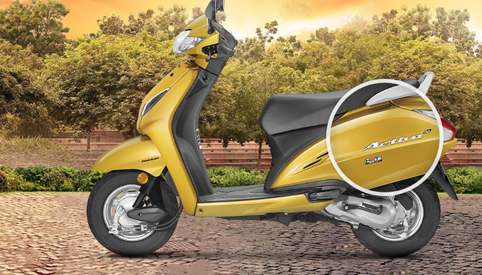 Launch is the new Honda Activa, with matching yellow color