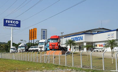 Grupo Carboni IVECO inaugura nova estrutura em Joinville (SC)