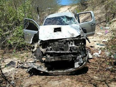 Bando que explodiu carro forte entre Caxias/Coelho Neto se envolve em acidente na PI-229