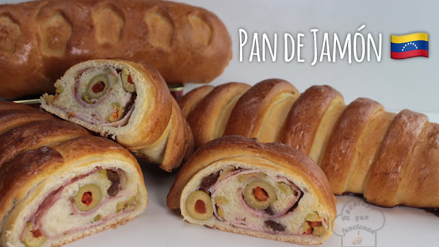 Receta Pan de Jamón tradicional Venezolana