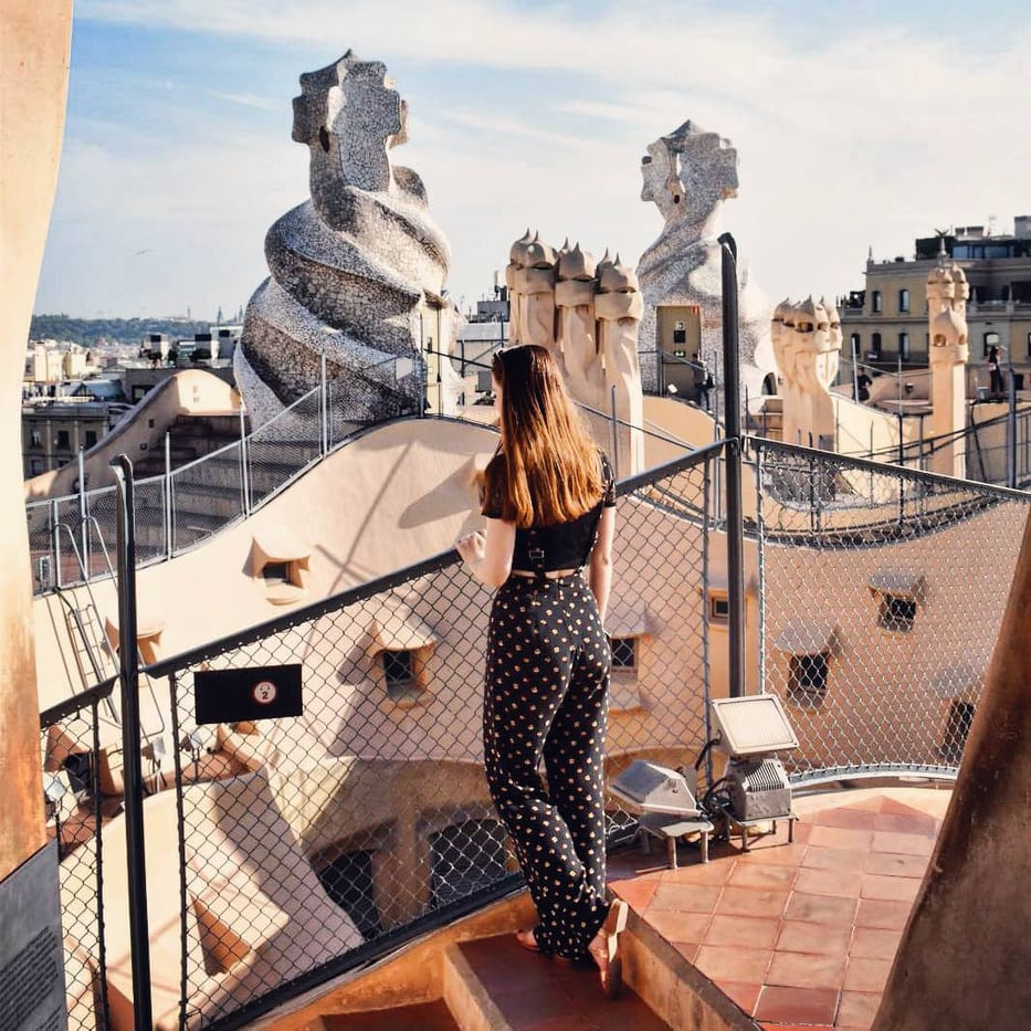 Top places to visit in Barcelona with travel blogger