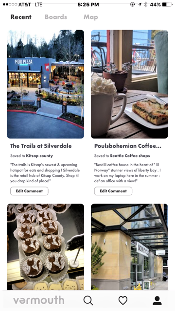 Vermouth travel and lifestyle app: true word of mouth experiences