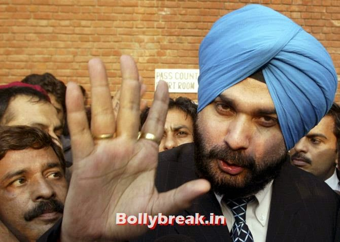 Former Indian cricketer and lawmaker Navjot Singh Sidhu, Sports & Bollywood celebrities Standing in Lok Sabha Elections 2014