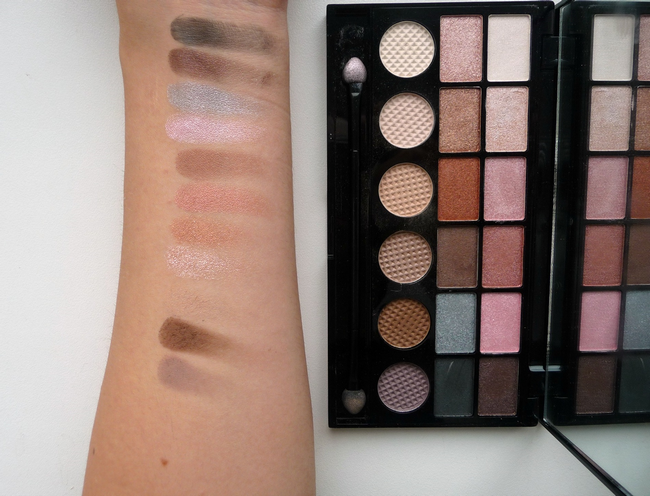 paletka makeup revolution london girl panic swatch