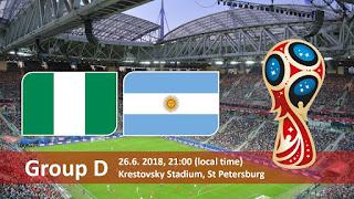 مشاهدة مباراة الأرجنتين و نيجيريا في كأس العالم 2018 بتاريخ 26-06-2018 موقع ماتش لايف