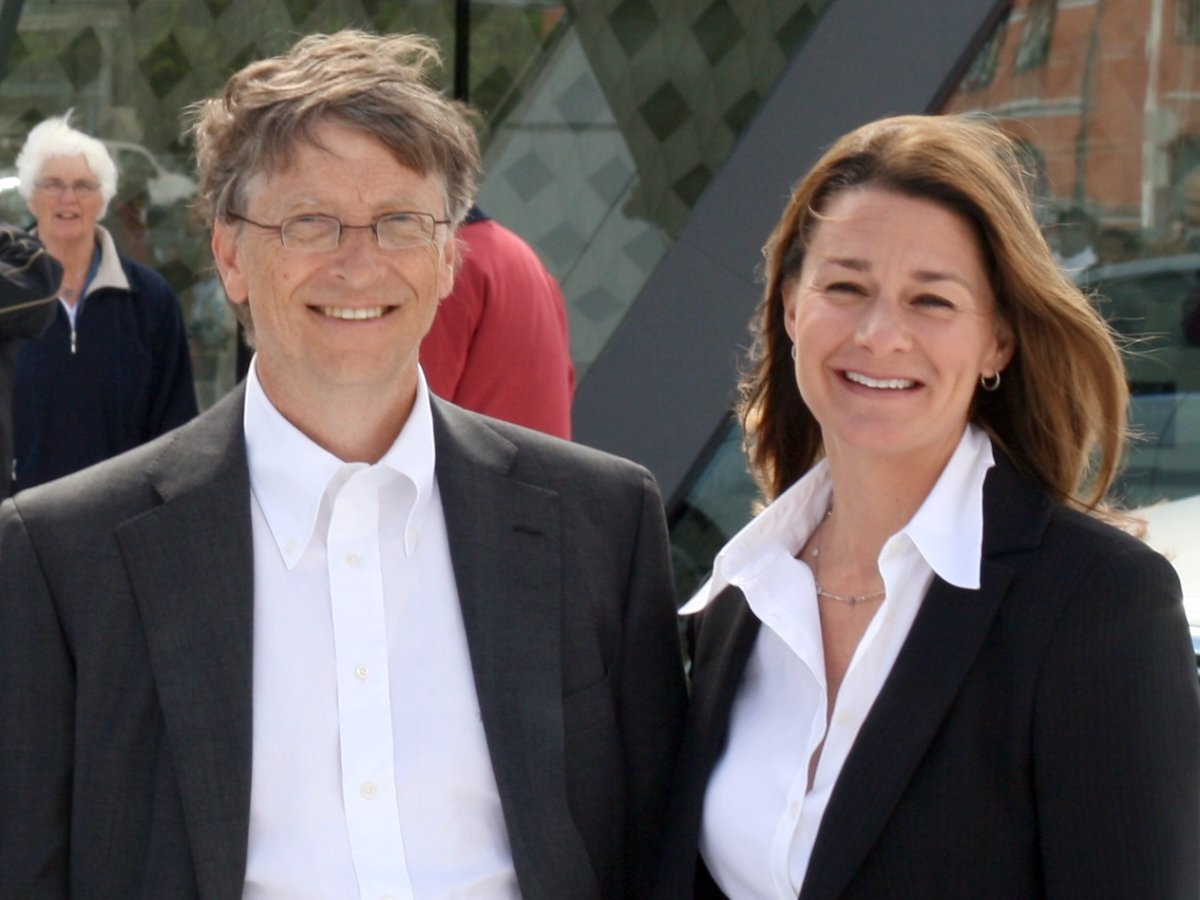 Bill and Melinda Gates control more than $40 billion under the Bill & Melinda Gates Foundation.