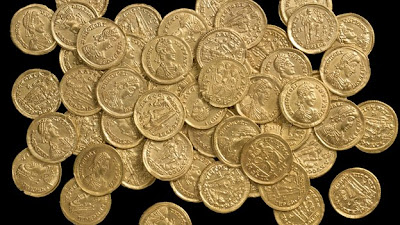 Roman gold coin hoard from St Albans declared 'nationally significant'