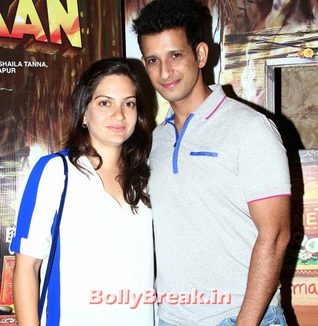 Sharman Joshi and Prerna, Aditi Rao, Shilpa, Tisca at Filmistaan Movie Special Screening at Lightbox