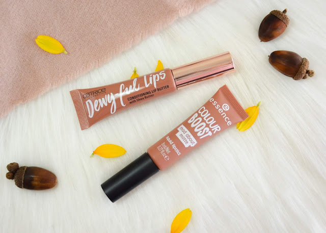 Catrice Dewy-ful Lips Conditioning Lip Butter and Essence Colour Boost Mad About Matte Liquid Lipstick