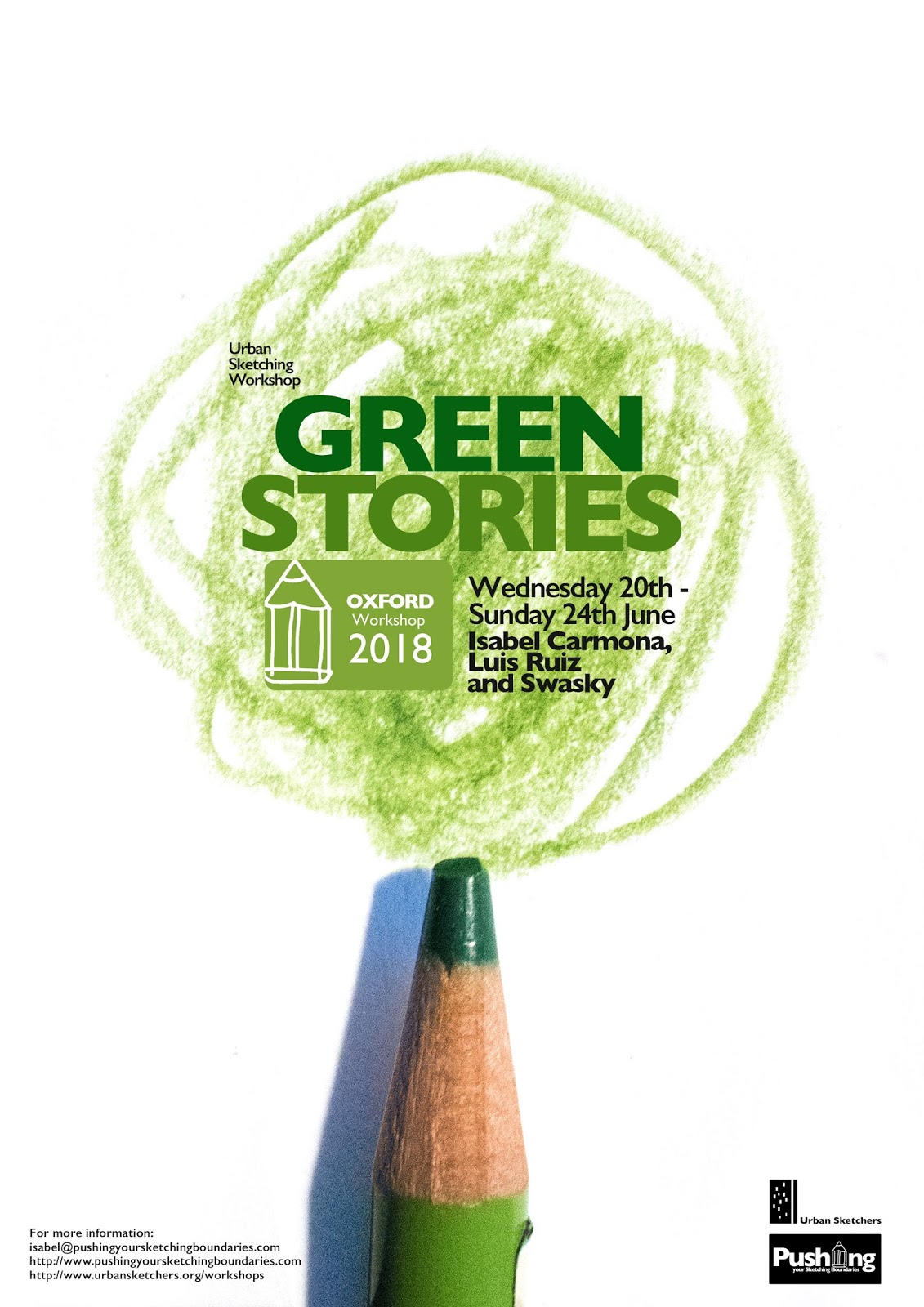 GREEN STORIES - PYSB in Oxford from 20th to 24th June, 2018
