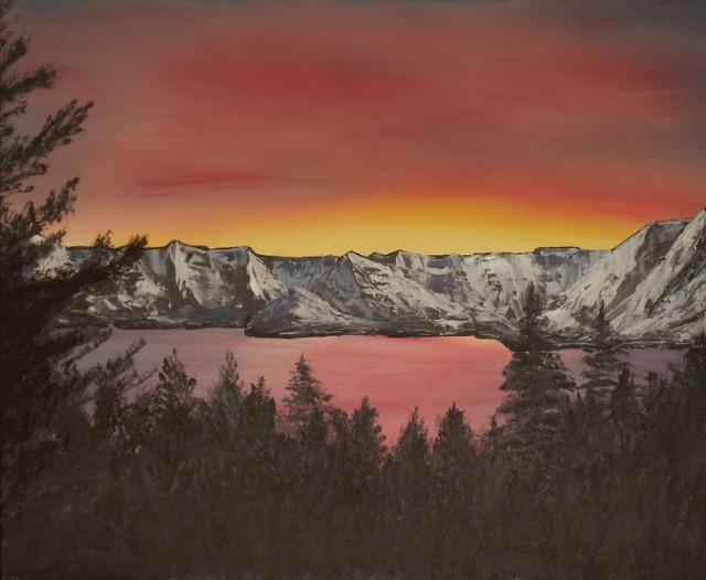 Американский художник. Aaron Thomas 4