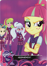 My Little Pony The Shadowbolts Equestrian Friends Trading Card