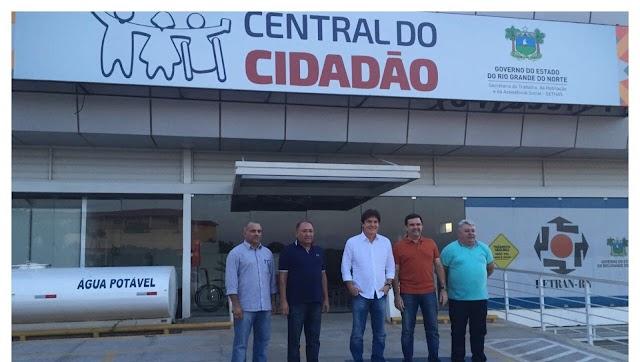 """Central do Cidadão de Pau dos Ferros teve 'luz cortada"""" por falta de pagamento"""