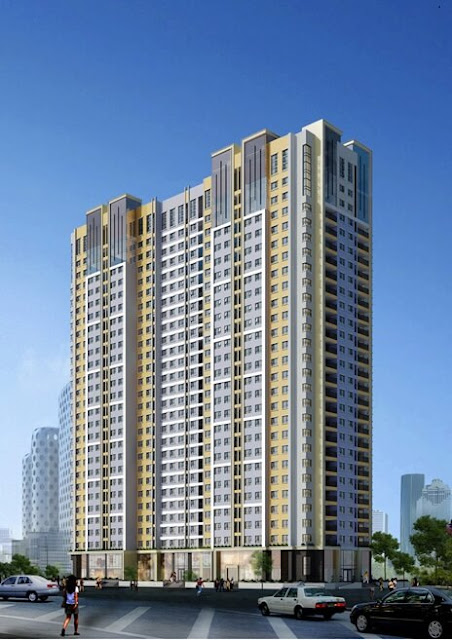 Tổng thể dự án căn hộ chung cư Ecodeam.