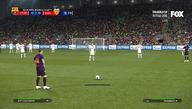 Natural Pitch For PES 2018