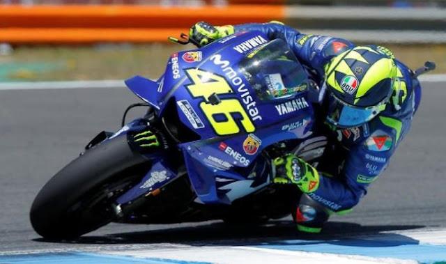 Gagal Juara MotoGP Mugello Italia, Rossi Puas Raih Podium Tiga