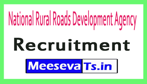 National Rural Roads Development Agency NRRDA Recruitment