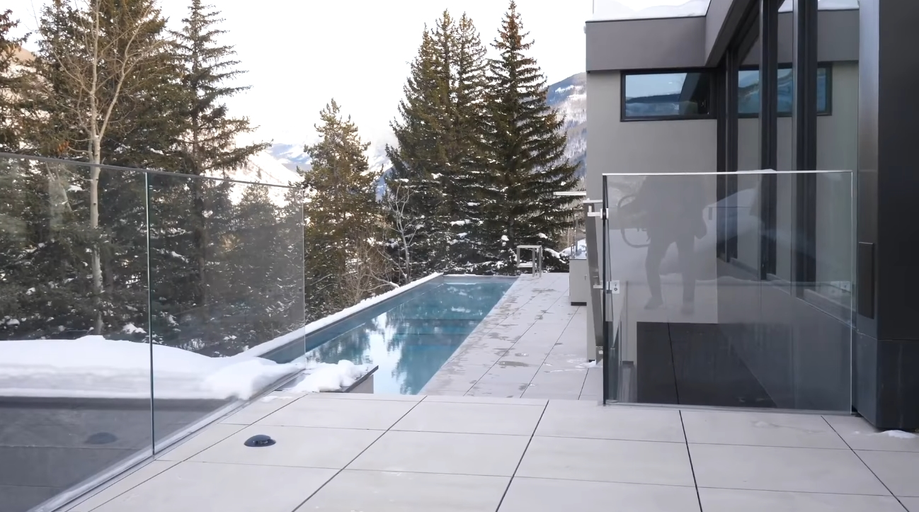 56 Photos vs. 165 W Forest Rd, Vail, CO Luxury Mansion Interior Design Tour