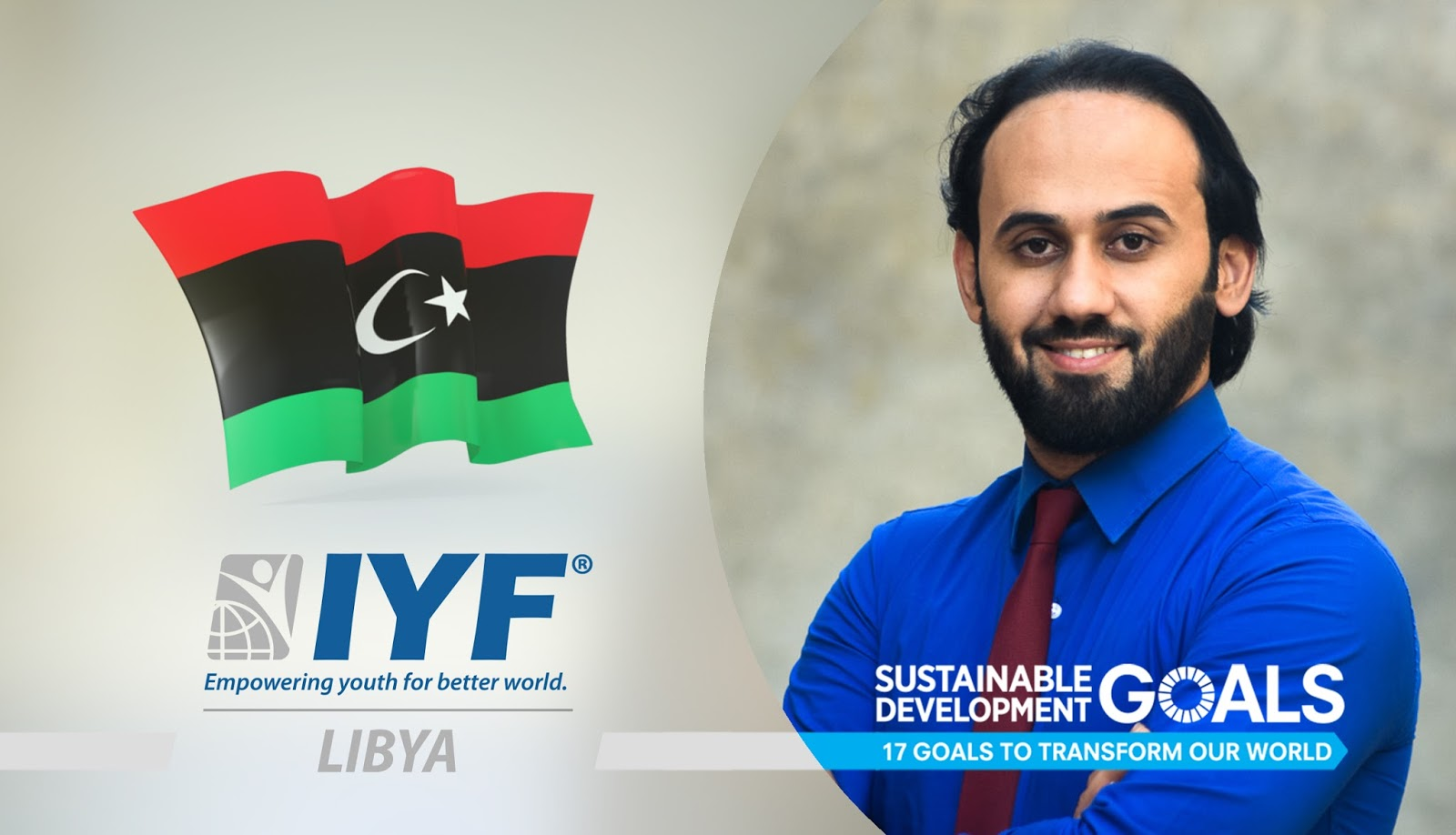 Fares Labedi, IYF Representative in Libya