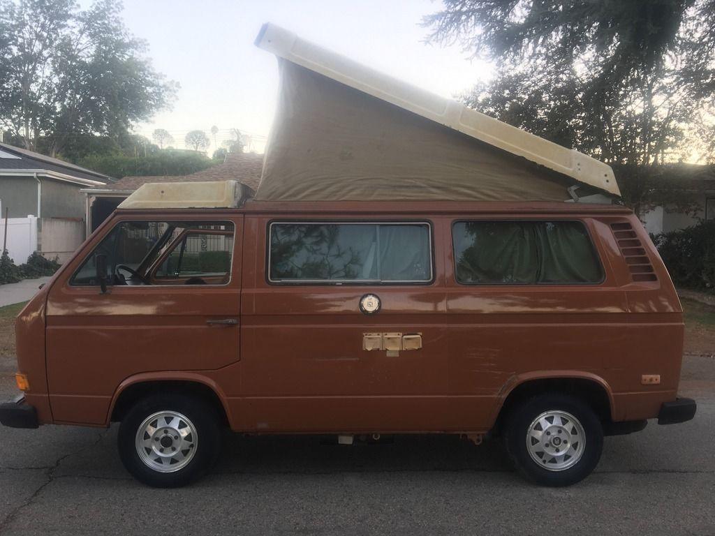 daily turismo auction watch 1981 volkswagen vanagon. Black Bedroom Furniture Sets. Home Design Ideas
