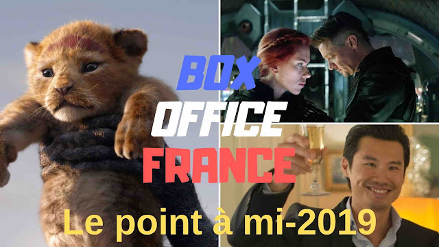 Le point sur le box office français au 31 juillet 2019