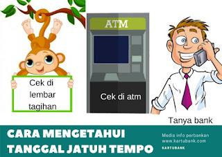 informasi cara mengetahui tagihan kartu kredit supaya nasabah bisa melakukan pembayaran tagihan kartu kredit tepat waktu