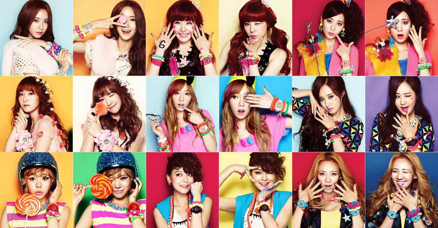 The Only One Snsd Collage