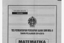 SOAL TPM atau TPPU tingkat SMP se-DIY (13-16 April 2015) MATEMATIKA