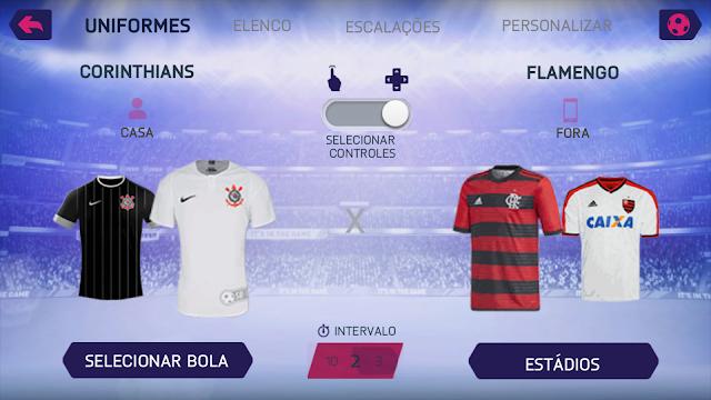 SAIU NOVO!! FIFA 18 COM TIMES BRASILEIROS ATUALIZADOS + KITS & ELENCOS 2018 PARA ANDROID