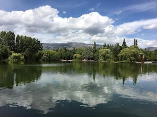 Estany i parc Schierbeck de Puigcerdà