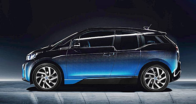 BMW I3 And I8 CrossFade Concepts 2017