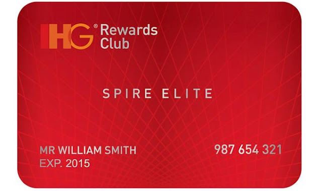 IHG Rewards Club - SPIRE ELITE status