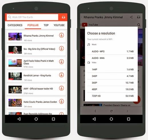 تحميل تطبيق سناب تيوب 2018 SnapTube APK للأندرويد والايفون لتحميل وتنزيل فيديوهات اليوتيوب مجاناً