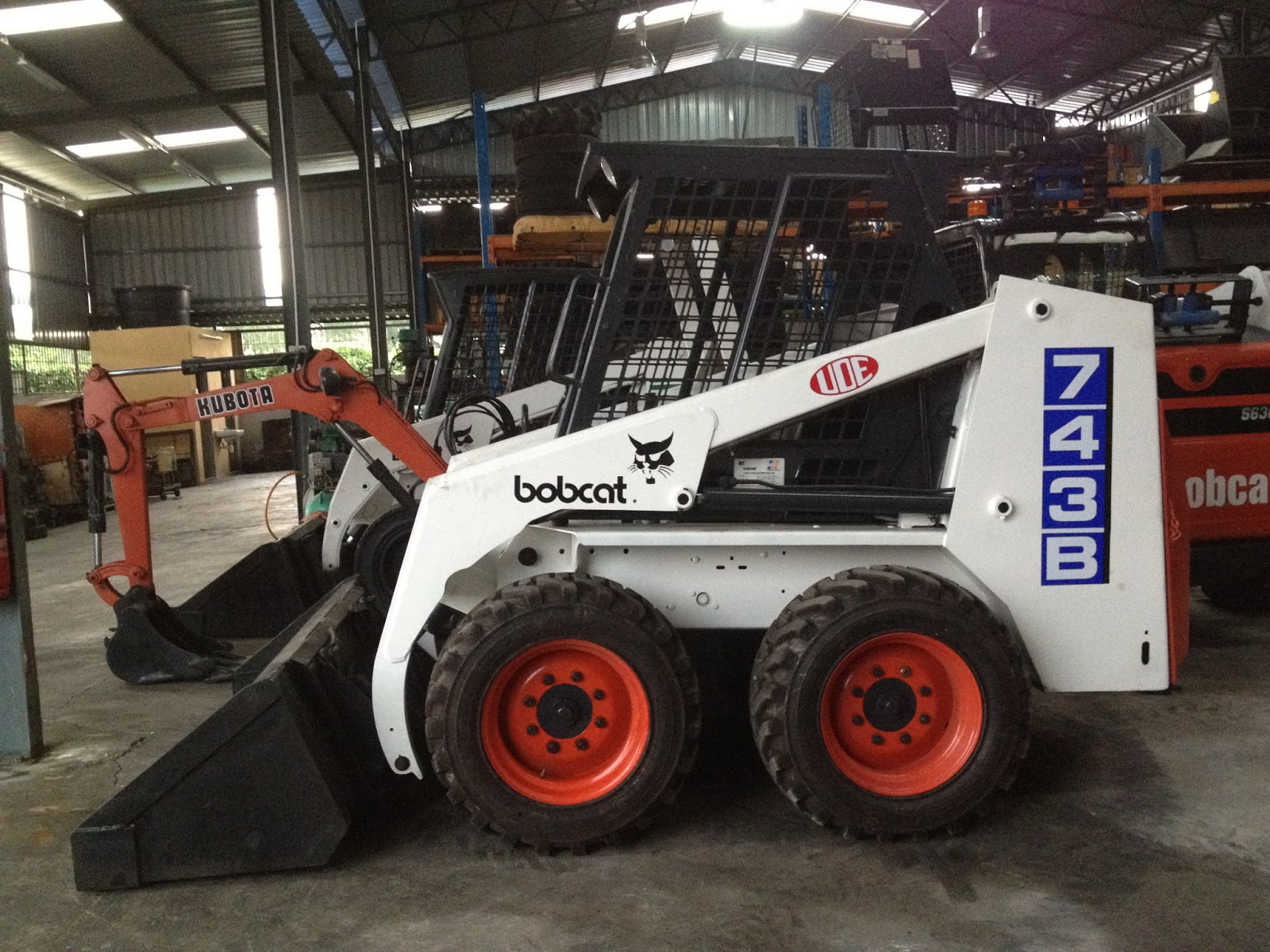 Uoe Equipment Sdn Bhd Reconditioned Bobcat Skid Steer Loader