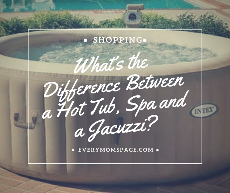 What's the Difference Between a Hot Tub, Spa and a Jacuzzi?