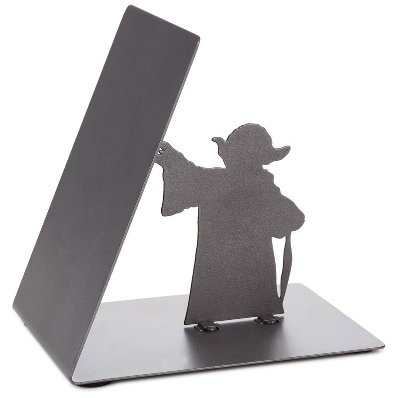 yoda-bookend-03 Star Wars Yoda Metal Bookend by Hallmark Design