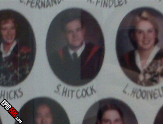 Funny Yearbook Names: Professor Mungleton: 29 Palms