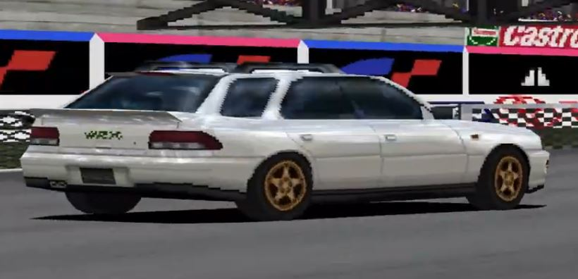 Subaru Impreza Sports Wagon WRX STi Version III '96