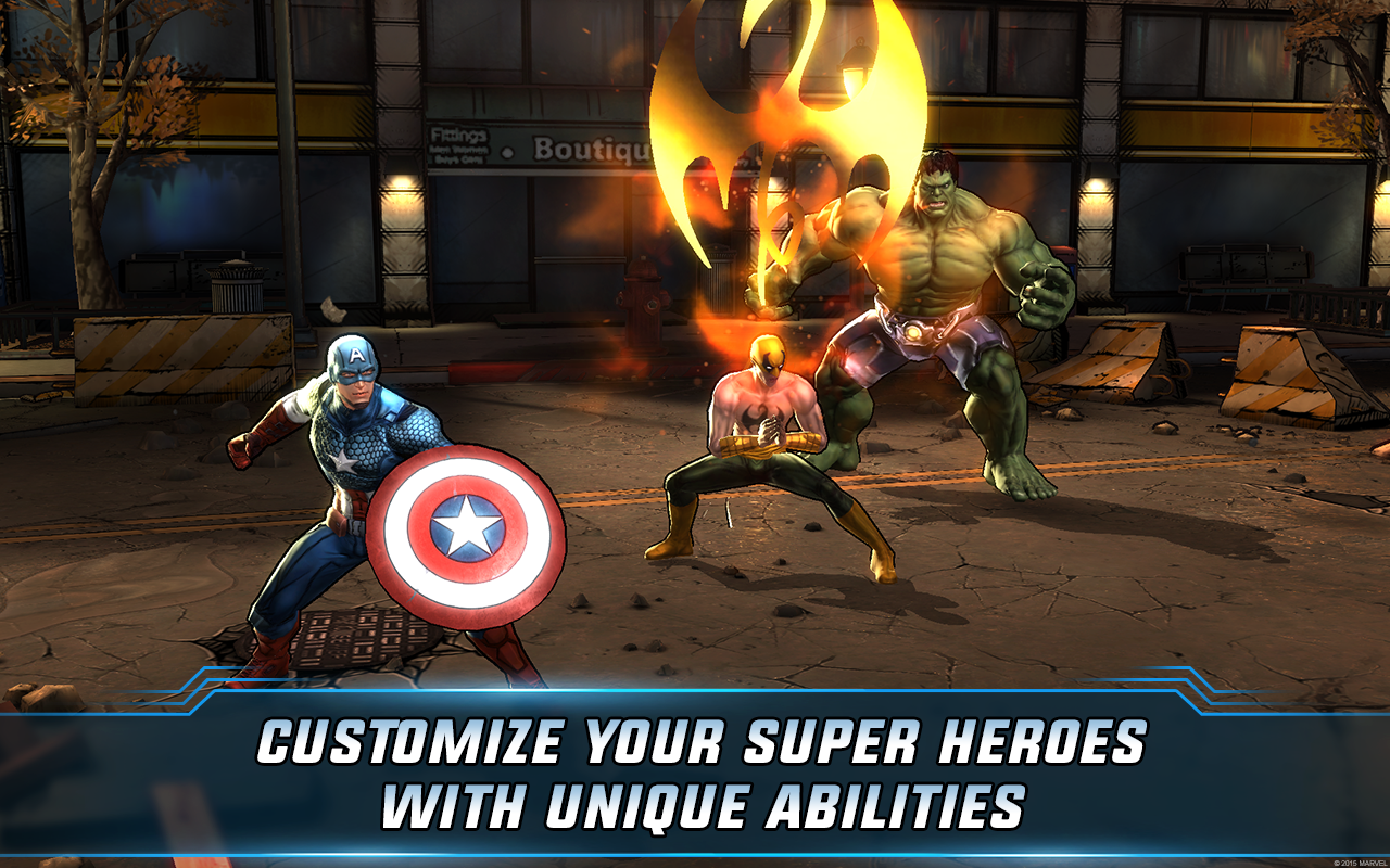 Screenshot Marvel: Avengers Alliance 2 v1.0.6 Mod Apk