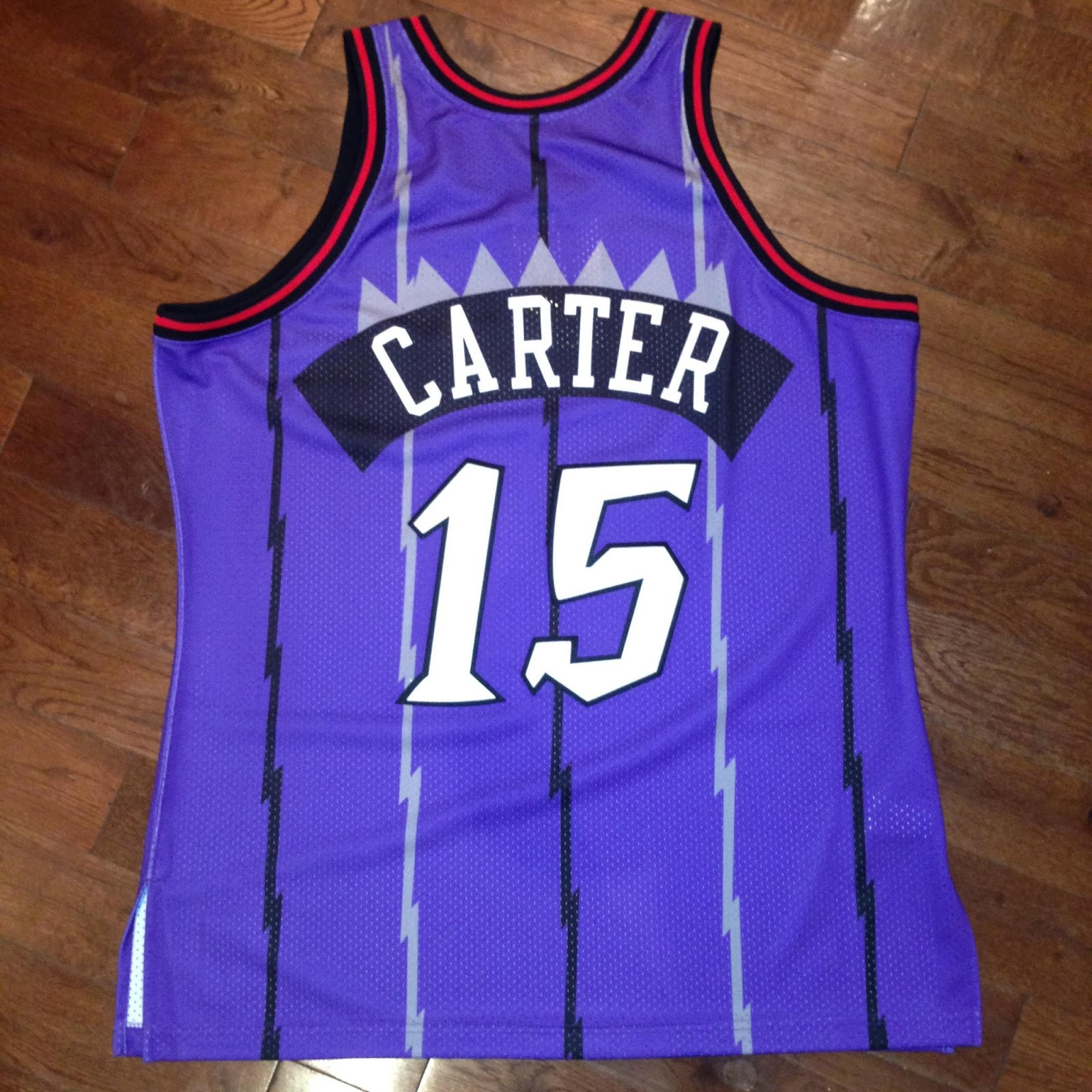 This is the road style jersey worn in Vince Carter s rookie year 4b02f2546