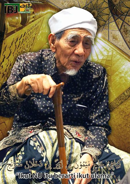 KH Maimoen Zubair: Islam yang Besar itu Hanya Arab dan Jawa