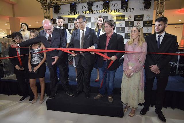 """""""Teremos o segundo maior crescimento econômico do país"""", diz Flávio Dino em inauguração de novo Shopping em São Luís"""