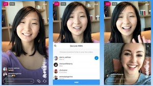 Instagram Users Can Live Streaming Together with Other Users