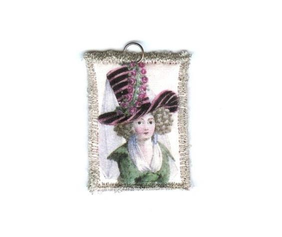18th Century Woman Pendant