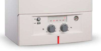 Механическая панель управления котла Bosch
