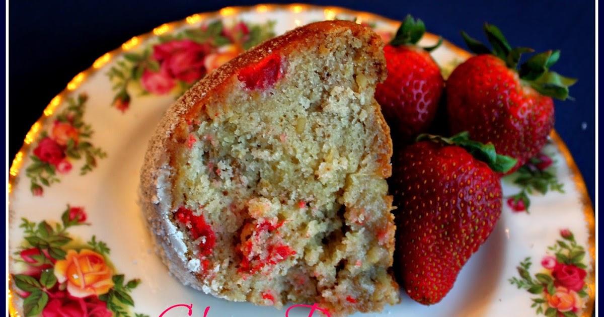 Old Fashioned Cherry Pound Cake