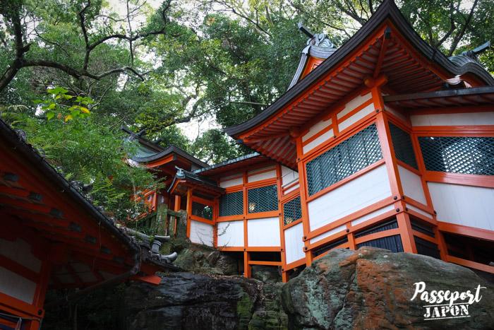 Sanctuaire Wakamiya Inari, Teramachi, Nagasaki